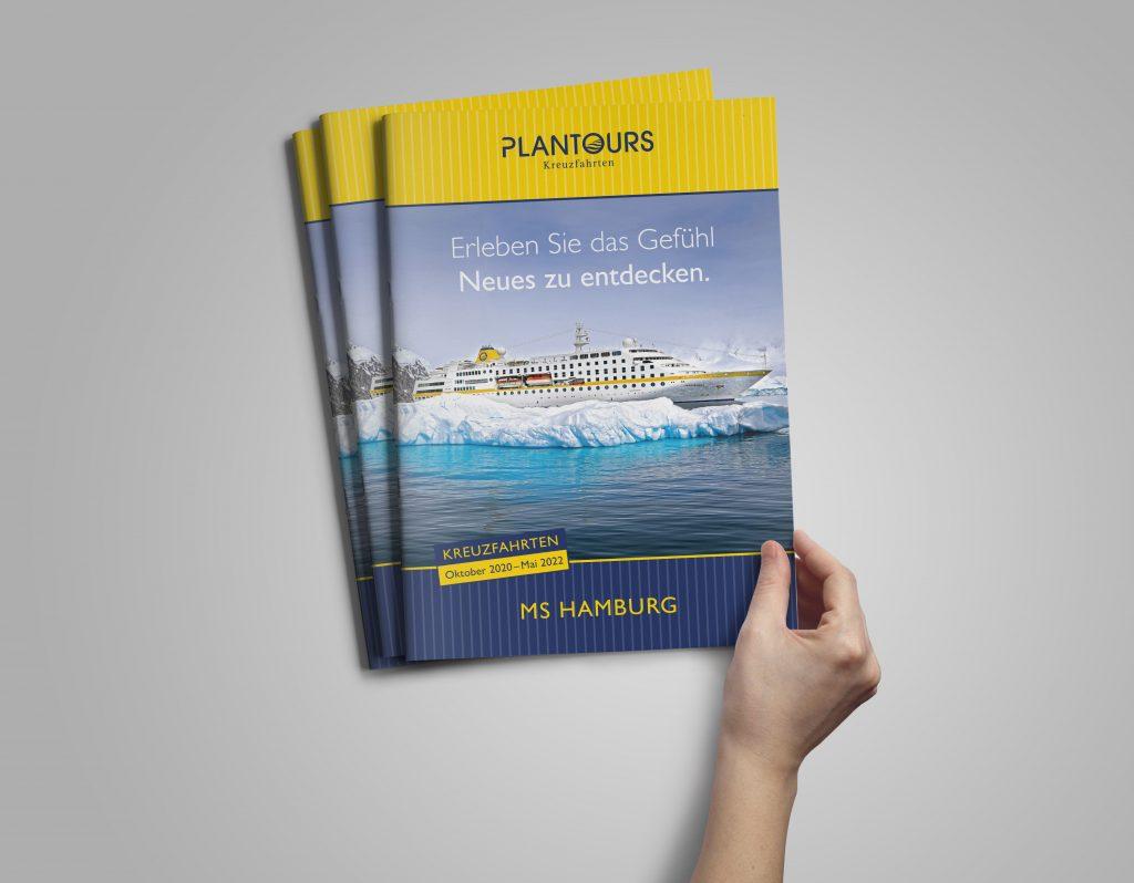MS HAMBURG Katalog von Plantours Kreuzfahrten